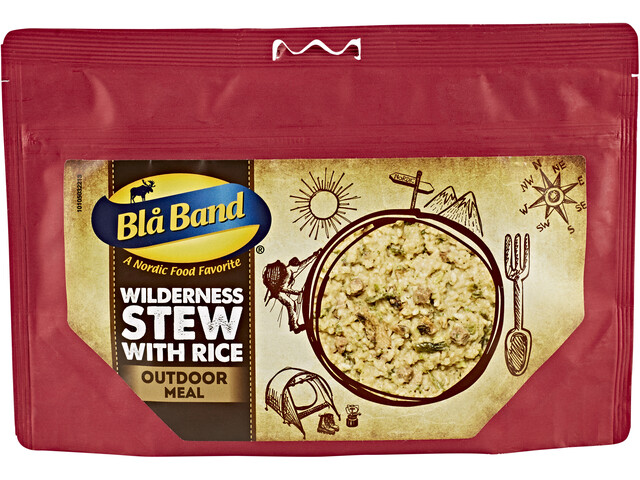 Blå Band Outdoor Pasto pronto, Wilderness Stew with Rice